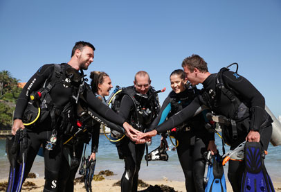 National Certificate in Diving – Foundation