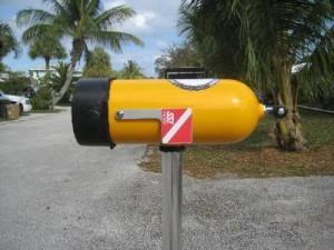 Scuba Post Box