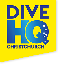 Dive HQ Christchurch Logo